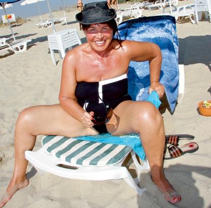 Бабкина фото на пляже