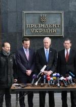 Сенатори США пообіцяли у Києві просувати ідею збільшення допомоги Україні (фото)