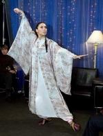 Алена Винницкая, тренируясь с самурайским мечом, потянула плечо</a>
