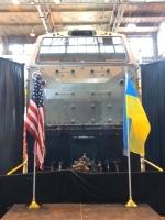 General Electric показали перший локомотив, виготовлений для України (фото)