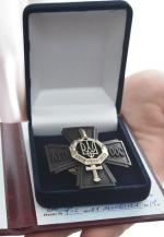 """""""Сталевим хрестом непереможних"""" нагородили 37 військових (фото)"""