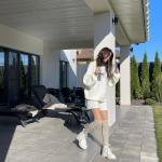 Надя Дорофєєва показала розкішний будинок під Києвом