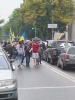 """Власники """"євроблях"""", які заблокували центр Києва, озвучили вимоги"""