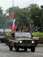 Путін проводить військові паради по всій Росії
