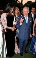 Принц Чарльз та Наомі Кемпбелл вразили спільним виходом