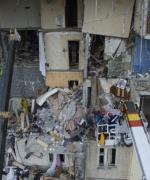 Пошкоджений вибухом будинок на Позняках повністю демонтують
