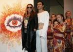Наталья Могилевская купила картину за $4000, а Владимир Дантес познакомился с мэром города Бердычев</a>