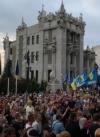 Патрулювання у Шумах: під ОП і резиденцією Зеленського - акції протесту (відео)