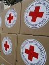 На Донбас прибули 9 вантажівок з гумдопомогою від Червоного Хреста