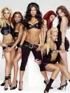Солістки гурту The Pussycat Dolls вийшли на сцену у сексуальній білизні