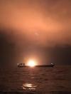 ЗМІ повідомили ймовірну причину пожежі у Керченській протоці