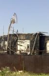 Внаслідок артилерійського обстрілу в Авдіївці згорів житловий будинок (фото)