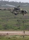 РФ відпрацьовує в окупованому Криму висадку десанту з вертольотів