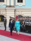 Зеленський зустрівся з президенткою Словаччини
