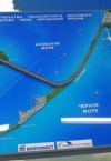 Росія планує доєднати залізницю до Керченського мосту