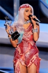 Леді Гага засвітила екстравагантні вбрання в Лас-Вегасі