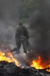 За добу в зоні АТО 1 військовий загинув, 11 поранені - штаб