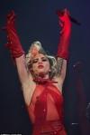 Леді Гага у прозорому костюмі оконфузилась на шоу