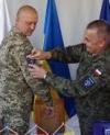 ЛитПолУкрБриг прийняв під командування український полковник (фото, відео)