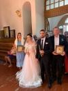 Анастасія Приходько показала весільні знімки